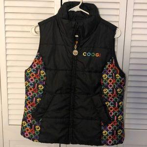 Women's large Coogi puffer vest